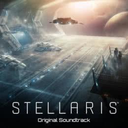 Обложка к диску с музыкой из игры «Stellaris»