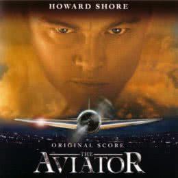 Обложка к диску с музыкой из фильма «Авиатор»
