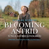 Маленькая обложка к диску с музыкой из фильма «Быть Астрид Линдгрен»