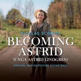 Обложка к диску с музыкой из фильма «Быть Астрид Линдгрен»