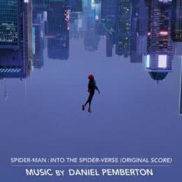 Обложка к диску с музыкой из мультфильма «Человек-паук: Через вселенные»