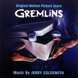 Обложка к диску с музыкой из фильма «Гремлины»