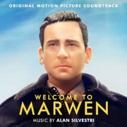 Обложка к диску с музыкой из фильма «Удивительный мир Марвена»