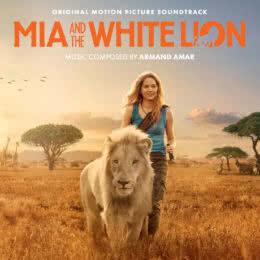 Обложка к диску с музыкой из фильма «Девочка Миа и белый лев»