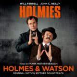 Маленькая обложка к диску с музыкой из фильма «Холмс & Ватсон»