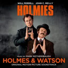 Обложка к диску с музыкой из фильма «Холмс & Ватсон»