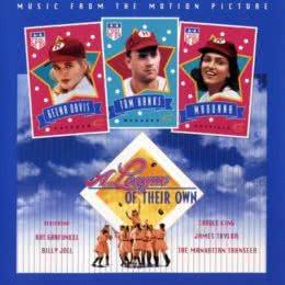 Обложка к диску с музыкой из фильма «Их собственная лига»