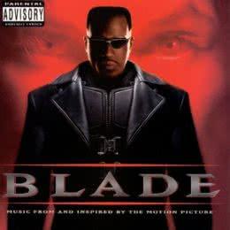 Обложка к диску с музыкой из фильма «Блэйд»