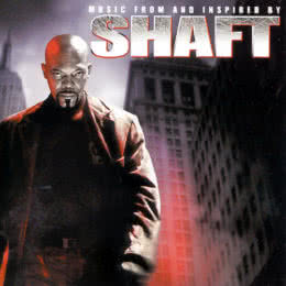 Обложка к диску с музыкой из фильма «Шафт»