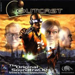 Обложка к диску с музыкой из игры «Outcast»