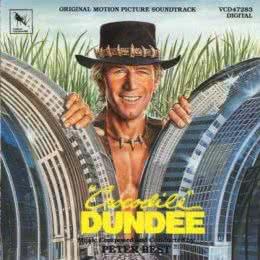 Обложка к диску с музыкой из фильма «Крокодил Данди»