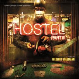 Обложка к диску с музыкой из фильма «Хостел 3»