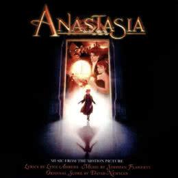 Обложка к диску с музыкой из мультфильма «Анастасия»