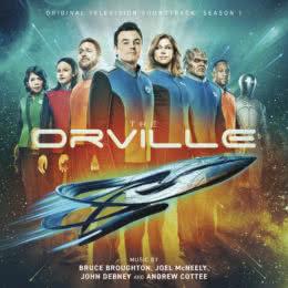 Обложка к диску с музыкой из сериала «Орвилл (1 сезон)»