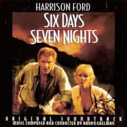 Обложка к диску с музыкой из фильма «Шесть дней, семь ночей»