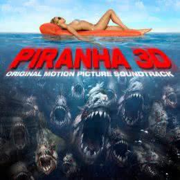 Обложка к диску с музыкой из фильма «Пираньи 3D»