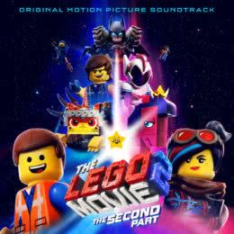 Обложка к диску с музыкой из мультфильма «Лего. Фильм 2»