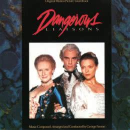 Обложка к диску с музыкой из фильма «Опасные связи»