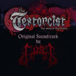 Обложка к диску с музыкой из игры «The Textorcist»