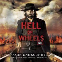 Обложка к диску с музыкой из сериала «Ад на колёсах (1 сезон)»
