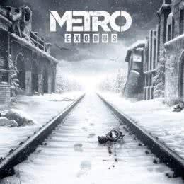 Обложка к диску с музыкой из игры «Metro Exodus»