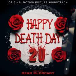 Обложка к диску с музыкой из фильма «Счастливого нового дня смерти»