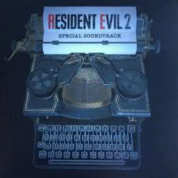 Обложка к диску с музыкой из игры «Resident Evil 2 (Special Soundtrack)»