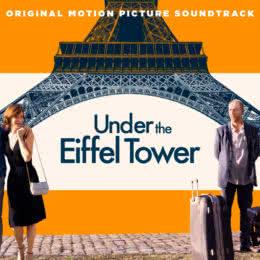 Обложка к диску с музыкой из фильма «Под Эйфелевой башней»