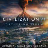 Маленькая обложка диска c музыкой из игры «Civilization VI: Gathering Storm»