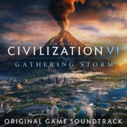 Обложка к диску с музыкой из игры «Civilization VI: Gathering Storm»