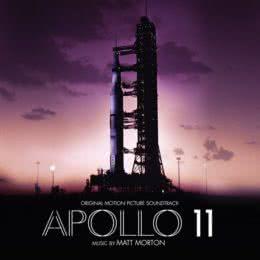 Обложка к диску с музыкой из фильма «Аполлон-11»