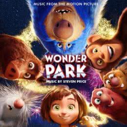 Обложка к диску с музыкой из мультфильма «Волшебный парк Джун»