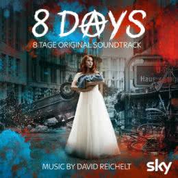 Обложка к диску с музыкой из сериала «8 дней»