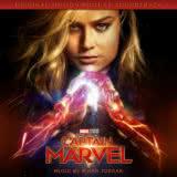 Маленькая обложка к диску с музыкой из фильма «Капитан Марвел»