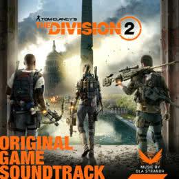 Обложка к диску с музыкой из игры «Tom Clancy's The Division 2»