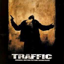Обложка к диску с музыкой из фильма «Траффик»