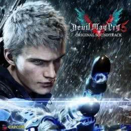Обложка к диску с музыкой из игры «Devil May Cry 5»