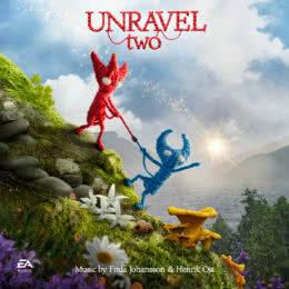 Обложка к диску с музыкой из игры «Unravel Two»