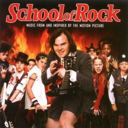 Обложка к диску с музыкой из фильма «Школа рока»