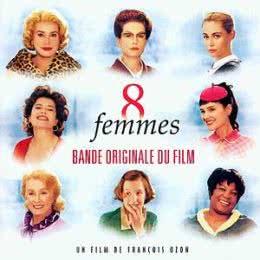 Обложка к диску с музыкой из фильма «8 женщин»