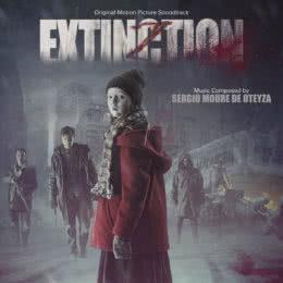 Обложка к диску с музыкой из фильма «Вымирание»