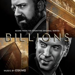 Обложка к диску с музыкой из сериала «Миллиарды»