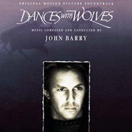 Обложка к диску с музыкой из фильма «Танцующий с волками»