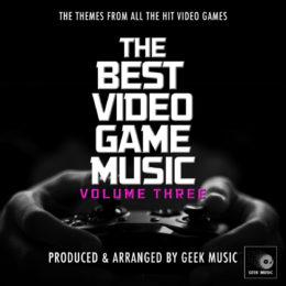 Обложка к диску с музыкой из сборника «Лучшие саундтреки из игр. Сборник 3»