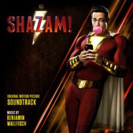 Обложка к диску с музыкой из фильма «Шазам!»