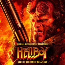 Обложка к диску с музыкой из фильма «Хеллбой»