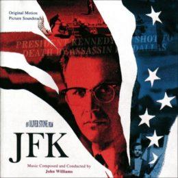 Обложка к диску с музыкой из фильма «Джон Ф. Кеннеди: Выстрелы в Далласе»