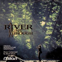Обложка к диску с музыкой из фильма «Там, где течёт река»