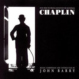 Обложка к диску с музыкой из фильма «Чаплин»