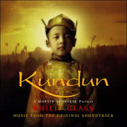 Обложка к диску с музыкой из фильма «Кундун»